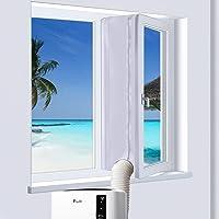 400cm Joint de Fenêtre pour La Climatisation Mobile, Calfeutrage De Fenêtres pour Climatiseur Portatif (400cm)