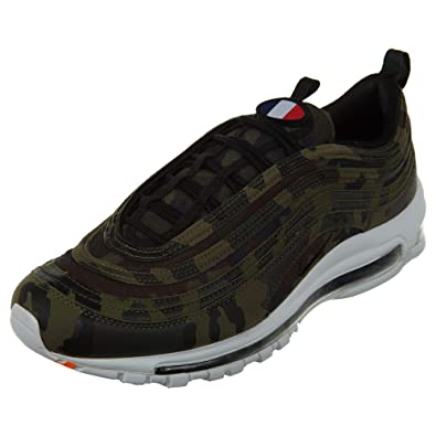 grand choix de 5709d 1b192 Amazon.com | Nike Air Max 97 Premium Qs - Medium Olive Mens ...