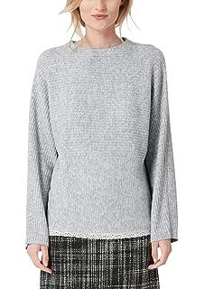 s.Oliver Damen Pullover 14.810.61.4745, Grau (Grey Melange