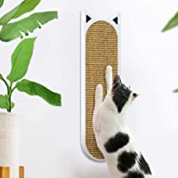 THUNDESK Wall Mounted Cat Scratcher- Wall Mounted Cat Scratching Pad for Improving Kitty's Health and Behavior- Cat…
