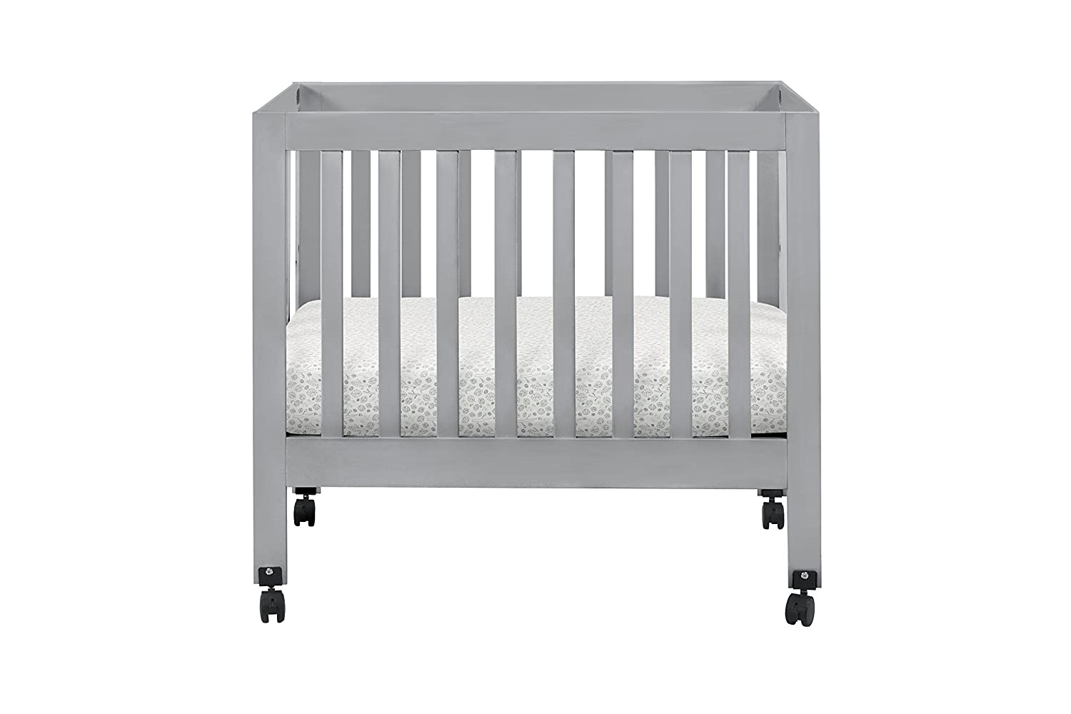 babyletto origami mini crib grey amazonca baby -