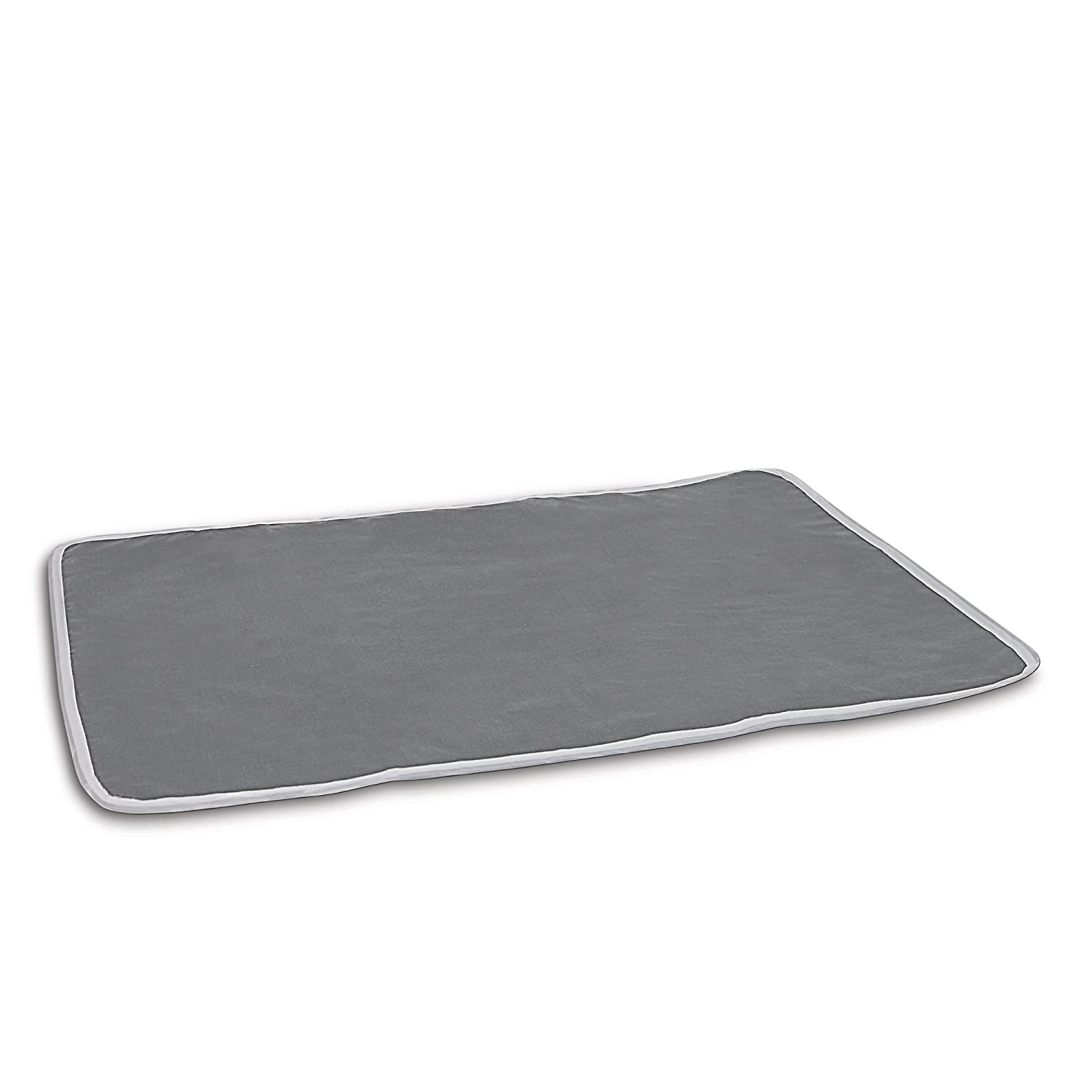 Homz Cotton Ironing Mat, Portable, Gray 1220253