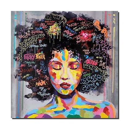 87e49159d6b Amazon.com  Pinetree Art African American Black Art Wall Decor ...