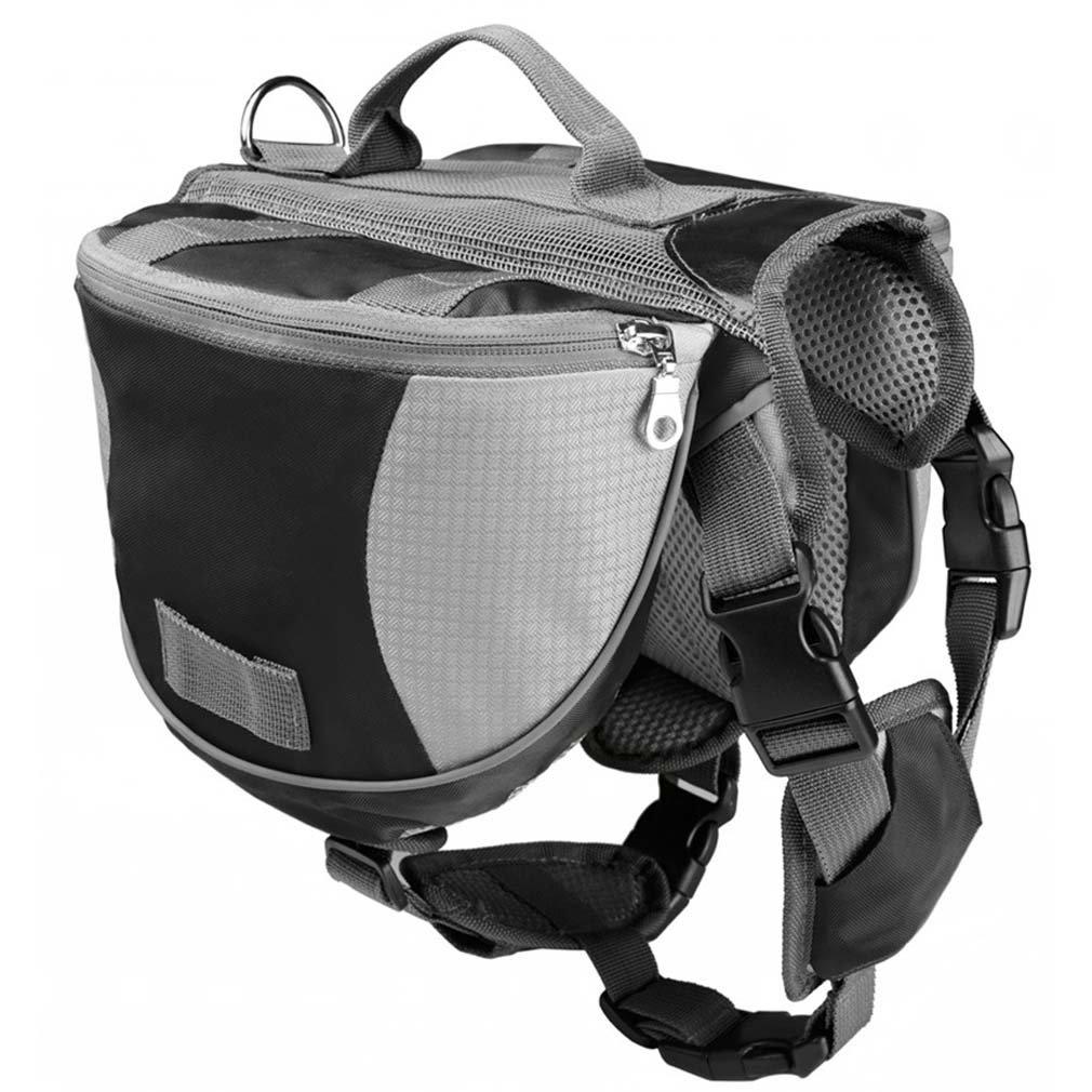 Black M Black M RUIYI Pet Backpack Dog Pack Hound Travel Saddle Bag Backpack for Dogs Dog Backpack Carrier for Hiking