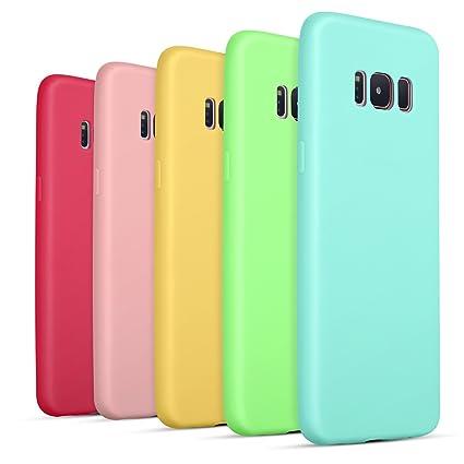 Amazon.com: Pofesun - Carcasa para Samsung Galaxy S8 (goma ...