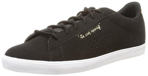 Le Coq Sportif Agate Lo S, Women's Low-Top Sneakers, Black (Black