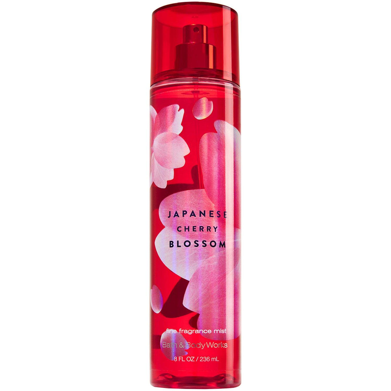 Bath & Body Works Signature Collection Fragrance Mist 8 Fl Oz (Japanese Cherry Blossom)