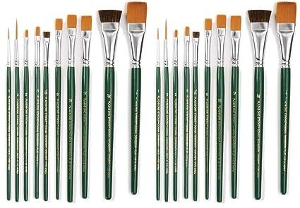 1059 One Stroke Brush Set 10-Pack