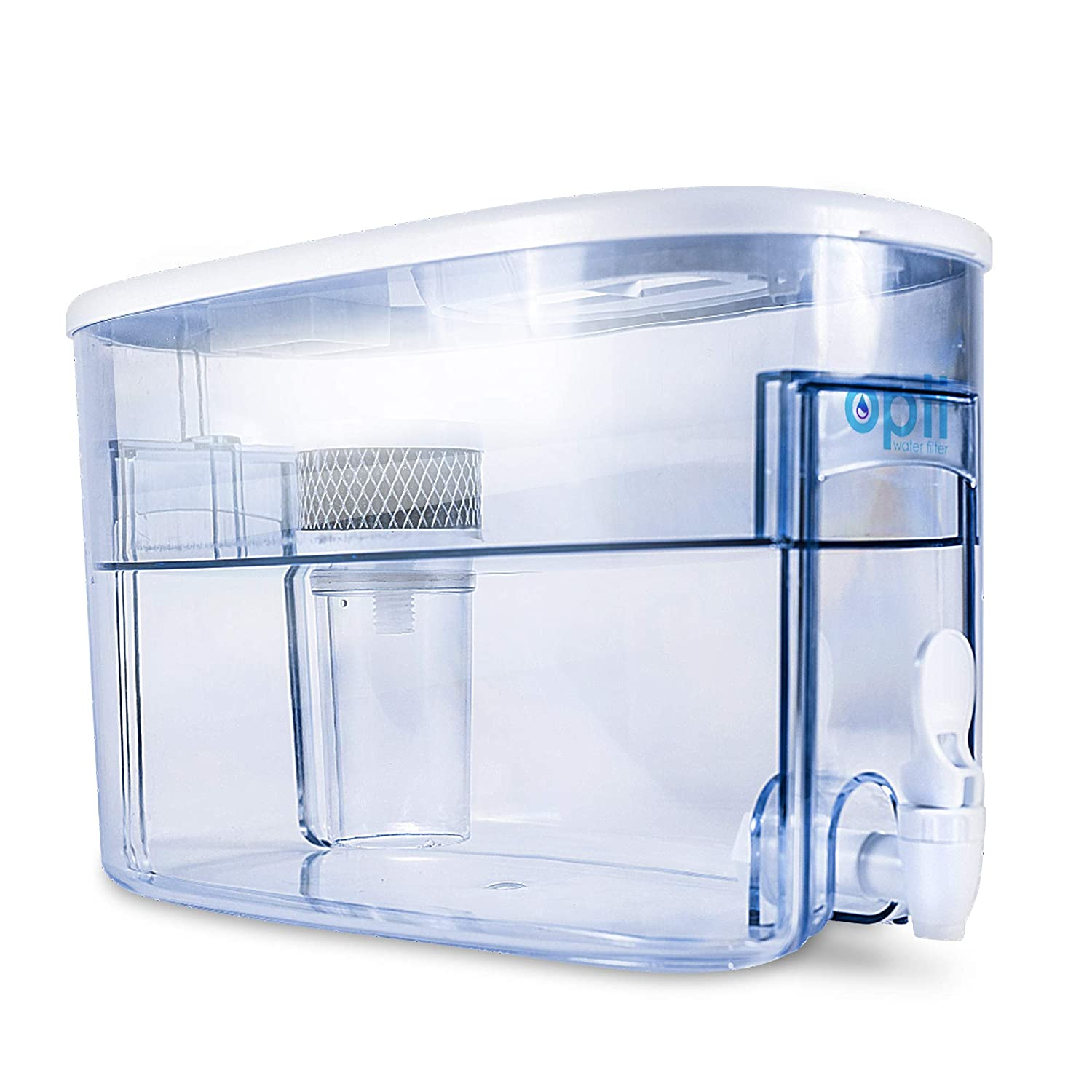 OPTI 2 Gallon pH-9.0 Alkalinity Water Filter Dispenser