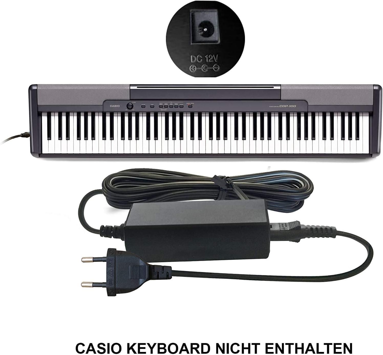 Casio AD-12M3, AD-12MLA(U), AD-12MLA, AD-12M, AD-12UL, AD-12, AD-12FL, FC2, TJ2) para teclados Casio