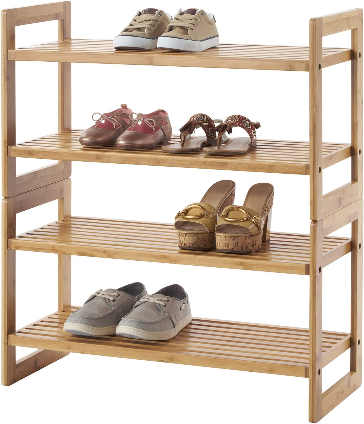 TRINITY Shoe Ranking Award TOP6 Rack Bamboo Pack 2