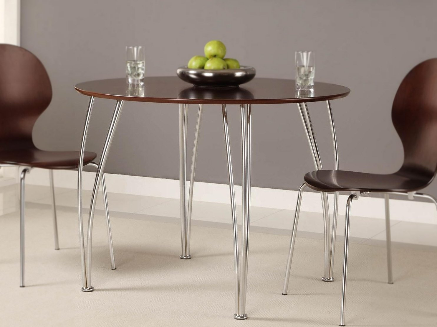 Bentwood Dining Table Amazoncom Dhp Bentwood Round Dining Table Top Available In