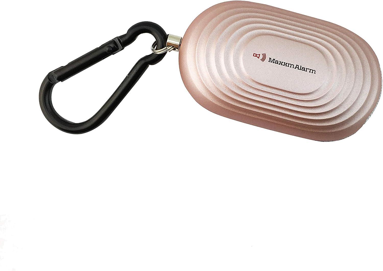 Matte Spacegrau Allarme 130dB LED dispositivo di emergenza Safety /& Security iMaxAlarm Maxxm SOS avviso cellulare sicurezza personale pulsante di allarme//allarme panico