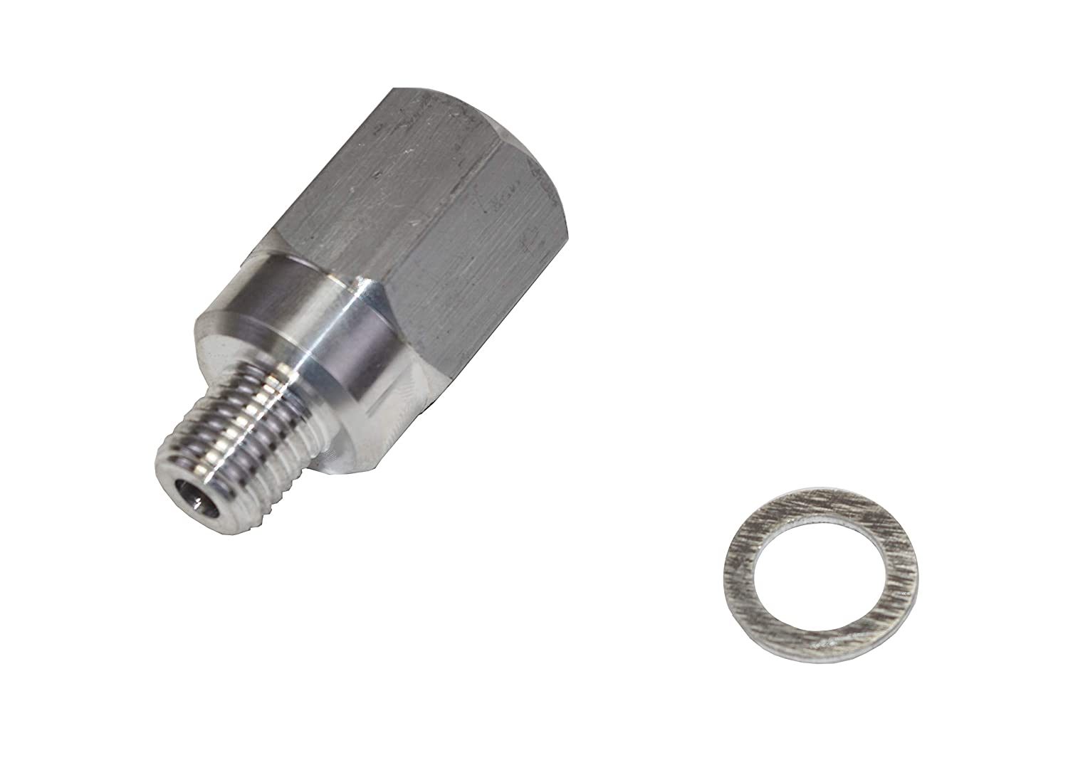A-Team Performance Coolant Temperature Sensor Water LS Engine Swap M12 1.5 Adapter to 3//8 NPT Fittings Compatible with LS1 LSX LS3 179