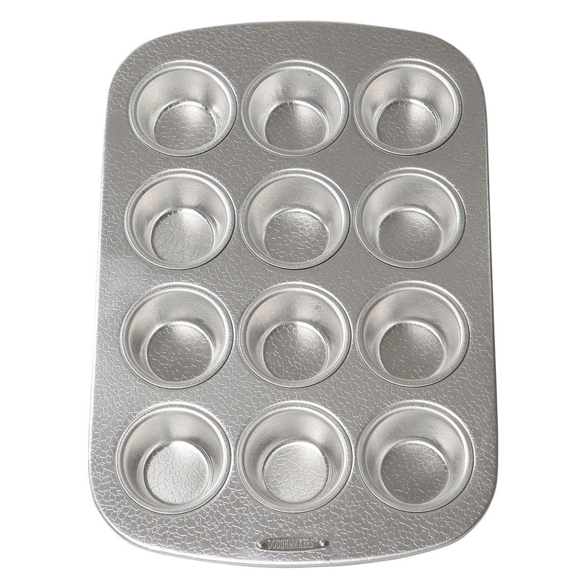 Doughmakers 10936 Muffin Cupcake Pan 12 Molds Fox Run Brands
