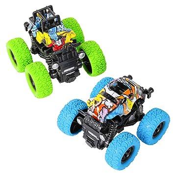 TWFRIC Coches Niños Juguetes Vehiculos Coches Maquetas ...