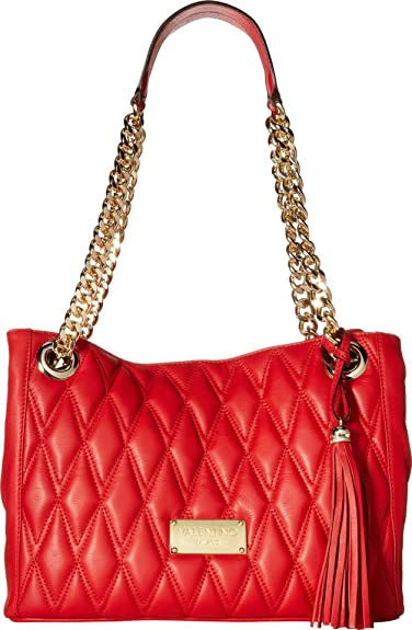 5037aa8f5ad Valentino Bags by Mario Valentino Women's Luisa D Red One Size: Handbags:  Amazon.com