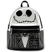 Loungefly Nightmare Before Christmas Jack Mini Backpack Black/White