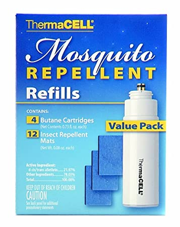 amazon com thermacell rb 4 mosquito repellent 48 hour refill
