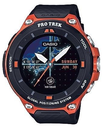 CASIO smart Autodoauotchi Purotorekku smart GPS-equipped WSD-F20-RG Mens--(Japan Import-No Warranty)