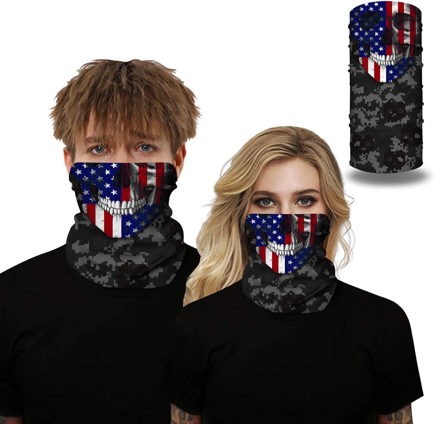 seamless microfiber UV protection Outdoor motorcycle mask seamless ski headwear