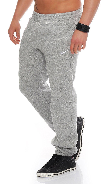 Nike Herren Sweathose Squad Fleece  S|Grau-meliert