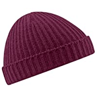 Beechfield Baseball Cap Unisex Retro Trawler Winter Beanie Hat