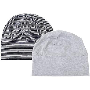 dans quelques jours 100% authentique Nouvelles Arrivées MagiDeal 2x Bonnet De Nuit Adulte Bonnet Sommeil Gris + Noir Unisexe  Vêtement Accessoire