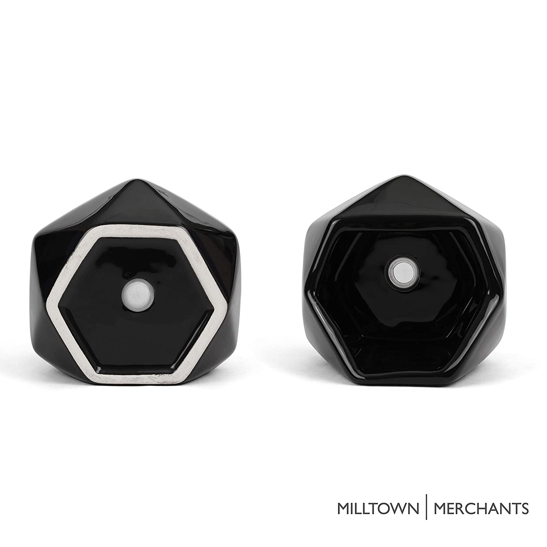 Amazon.com: Milltown Merchants - Jarrón de cerámica para ...
