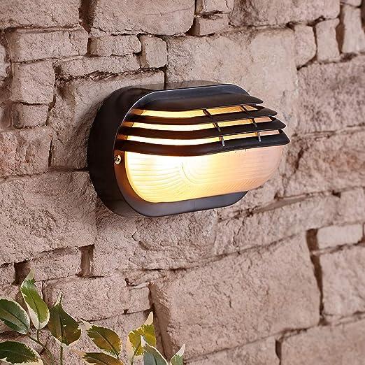 Biard Luz Exterior Ovalada Tipo Mampara - Iluminación Tipo Párpado ...