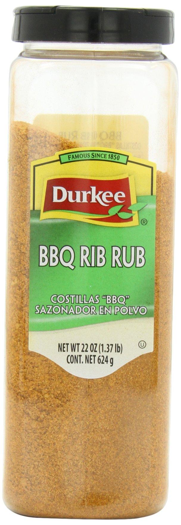 Durkee BBQ Rib Seasoning Rub, 22-Ounce