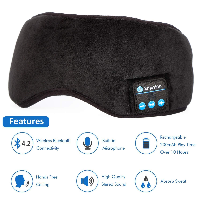 Amazon.com  Bluetooth Headphones Sleep Eye Mask c5851b786