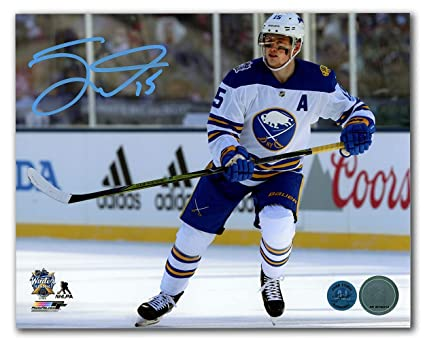 huge selection of 60b5a d5725 Jack Eichel Buffalo Sabres Autographed 2018 Winter Classic ...