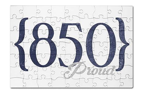 Amazoncom Tallahassee Florida Area Code Blue X - 850 area code