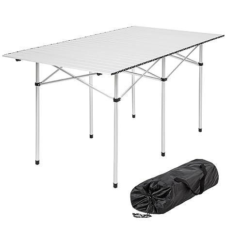 Campingtisch Gartentisch.Tectake Klapptisch Campingtisch Gartentisch Campingmöbel Diverse Modelle 140x70x70cm Model 401170