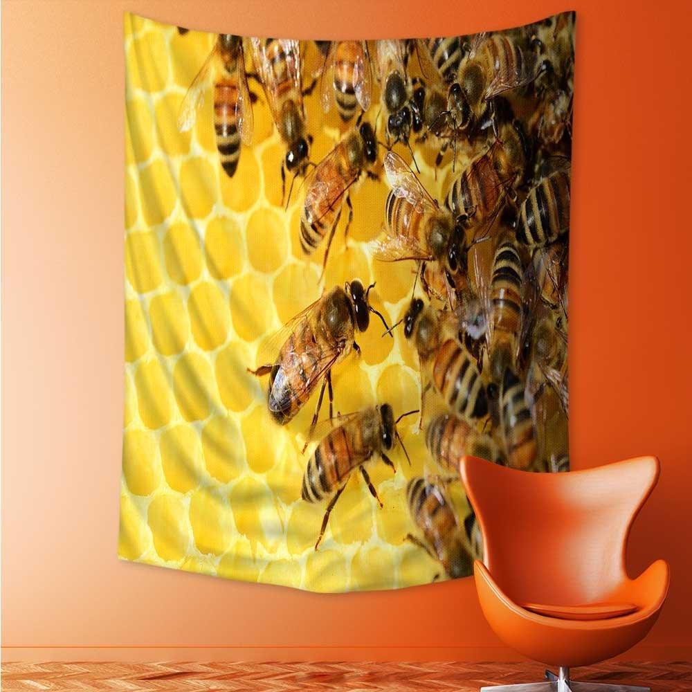 Amazon.com: Mandala Tapestry Celestial Wall Decor Bees in the ...