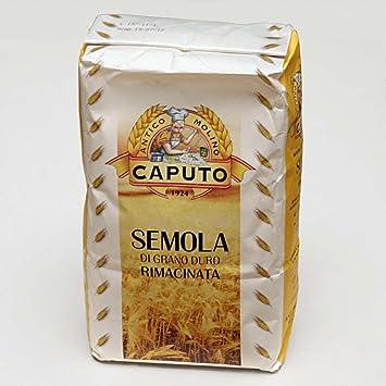 Antimo Caputo 00SEMOLA (Semolina Harina): Amazon.com ...