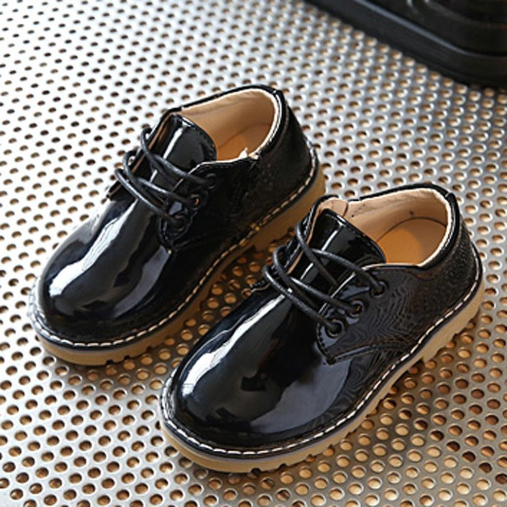 Dreamyth Children Fashion Boys Girls Martin Rubber Sole Sneakers Single Casual Shoes