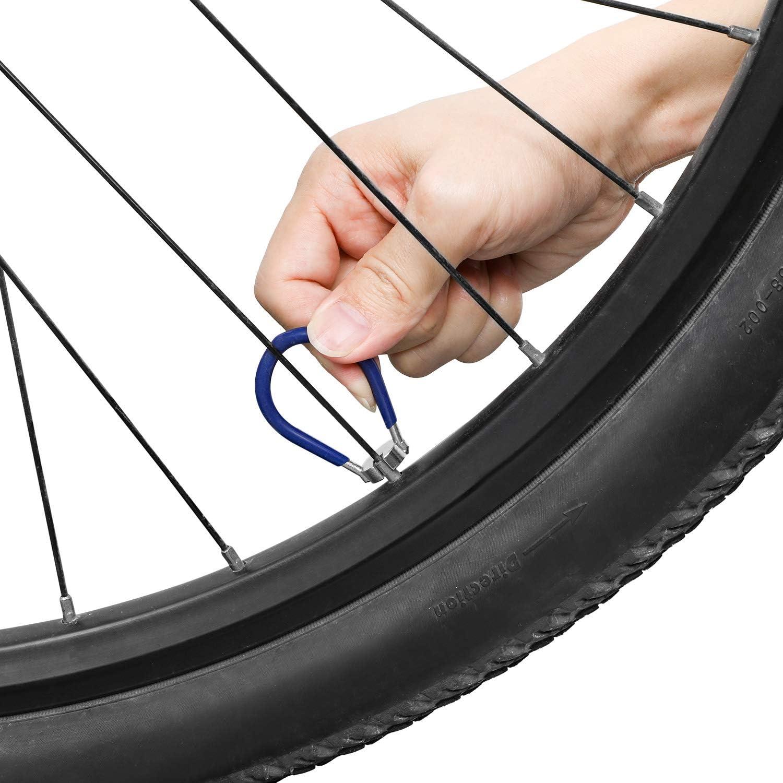 Oumers 3 pcs Llave de Radio de Bicicleta, Llaves para radios ...