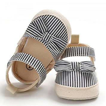 Newborn Kid Baby Girl Soft Crib Shoes Infants Anti-slip Sneaker Prewalker 0-18M