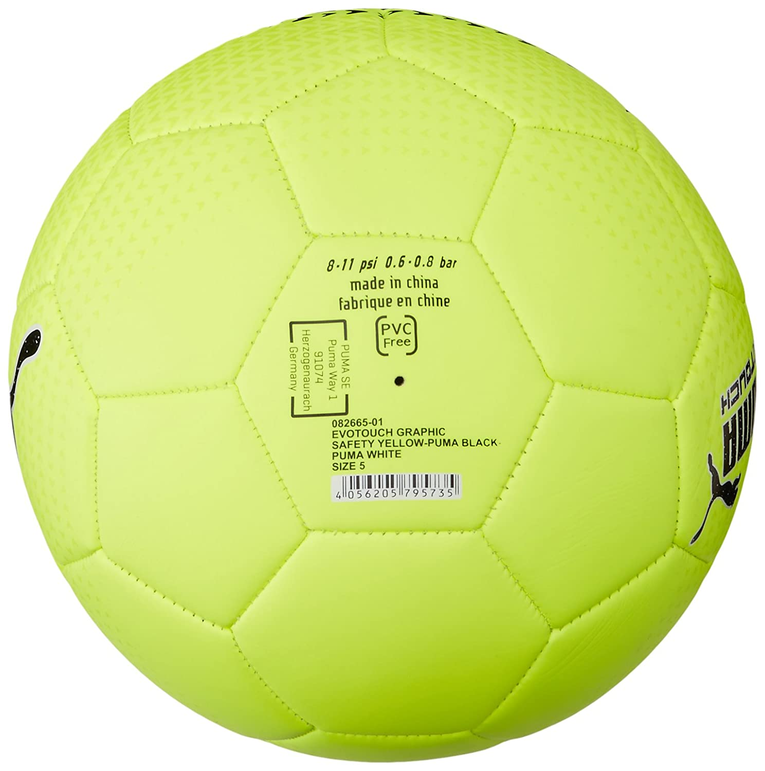 Buy Puma evoTouch Graphic Football, Size 5 (Yellow/Black/White) Online at  Low Prices in India - Amazon.in