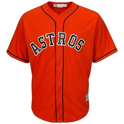 26cb9b966a8 Amazon.com   Majestic Houston Astros Alternate Orange Cool Base ...