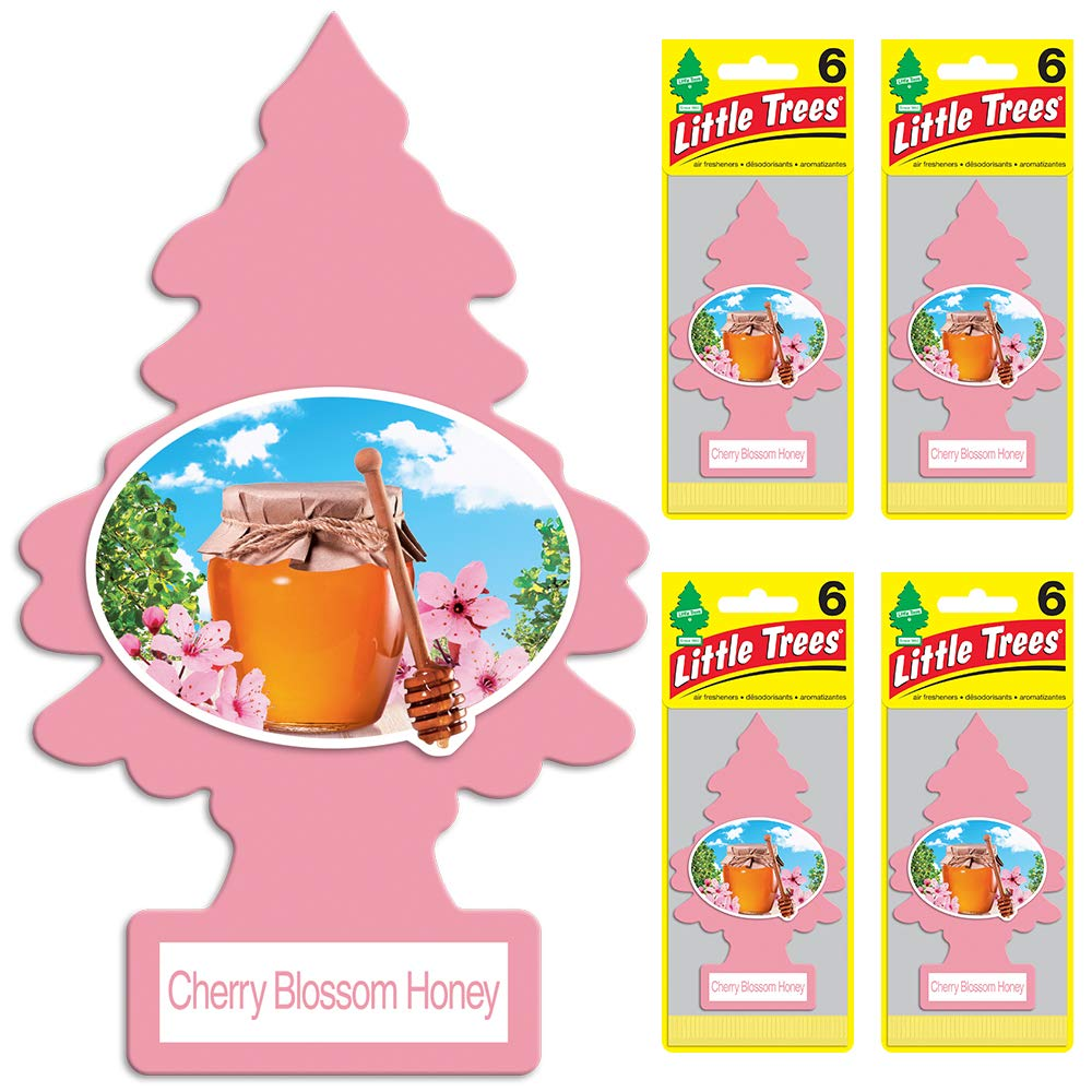 Little Trees Leather Air Freshener, (Pack of 24) U6P-60290-AMA