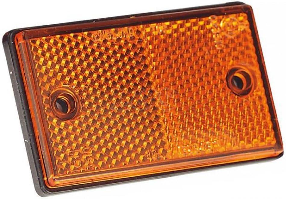 Amber Side Reflector 75mm Wide