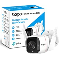 TP-Link Tapo Outdoor Security Camera/CCTV, Weatherproof, No Hub Required, Compatible with Alexa&Google Home, 3MP High…