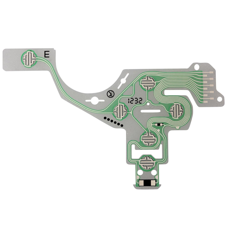 Circuito Flexible Ps4 : Ejiasu circuito mando ps nueva película conductora de teclado de