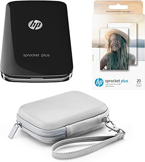 Pack HP Sprocket Plus - Impresora portátil + Papel fotográfico + ...