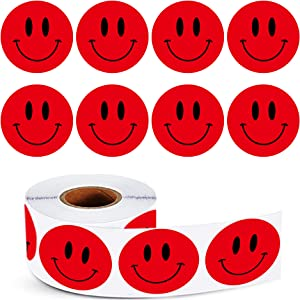 STARLIBOO Smile Face Stickers Happy Encourage Sticker 1