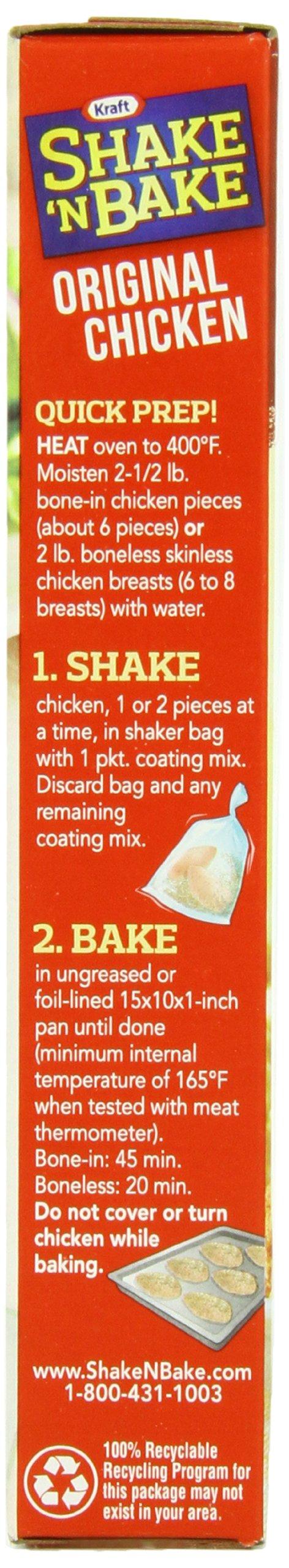 Kraft Shake N Bake Seasoned Coating Mix Box, Original Chicken, 4.5 Ounce (Pack of 12) by Kraft (Image #6)