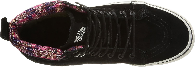Vans U Sk8-hi MTE, Zapatillas de Deporte para Mujer Negro Mte Black Woven Chevron B6bPo